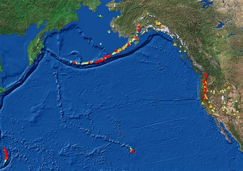 map us volcanoes volcano facts from the usgs particularly the proposed