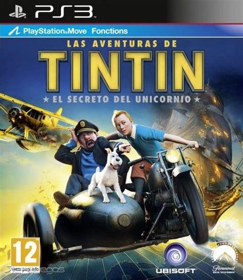 las aventuras de tintin 8426110460 las aventuras de tint 237 n el secreto del unicornio para ps3 3djuegos