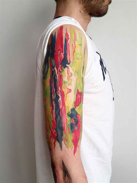 watercolor tattoo years later watercolor tattoos by amanda wachob inkppl