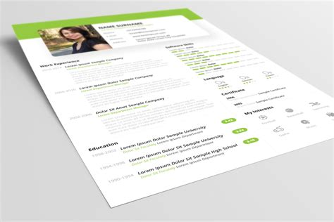 cv design ppt free beautiful resume cv design template psd ppt file