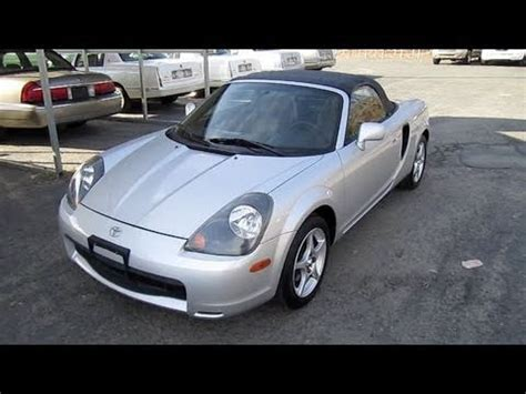 how cars engines work 2001 toyota mr2 electronic throttle control short takes 2001 toyota mr2 spyder start up engine tour youtube