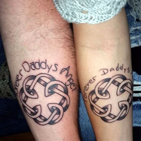 father and daughter tattoo designs 45 adorable and tattoos to live the connection