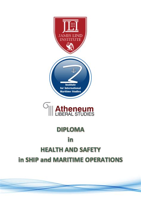 Mba In Healthare Management And Safety by Diploma In Health And Safety In Ship And Maritime
