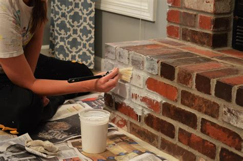 can you wash whites with colors how to whitewash brick our fireplace makeover loving here
