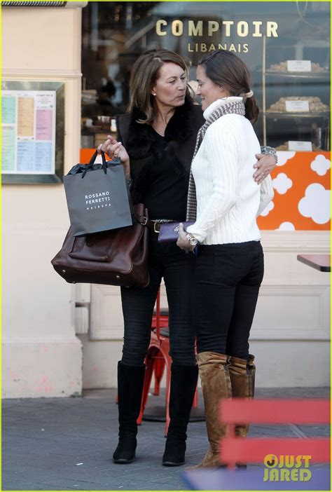 pippa  carole lunch  london kate didnt  daughter