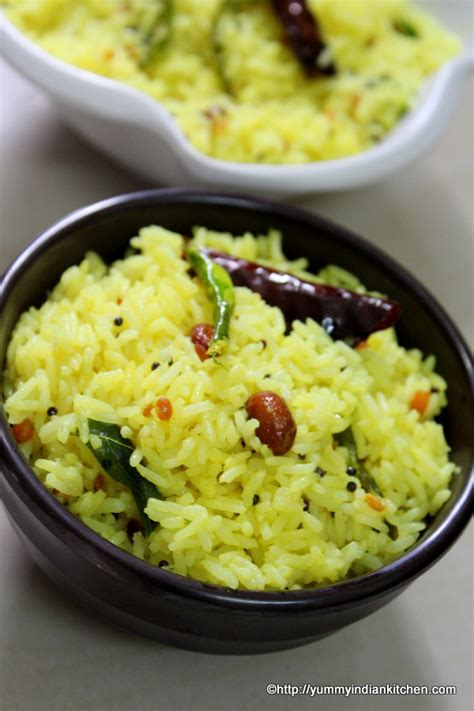 Benedyglen's Recipes: LEMON RICE RECIPE SOUTH INDIAN STYLE Lemon Rice Recipe South Indian Style