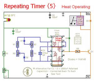 how to build repeating timer no5 circuit diagram