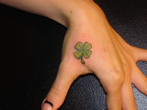 four leaf clover wrist tattoos four leaf clover tattoos designs ideas and meaning