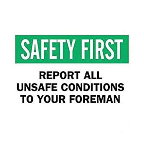 brady 42900 safety slogans sign pack of 12
