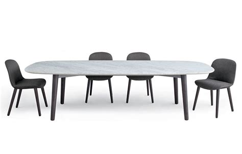 poliform dining table tavoli poliform concorde