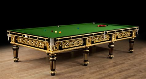 a spectacular gilded antique billiard snooker
