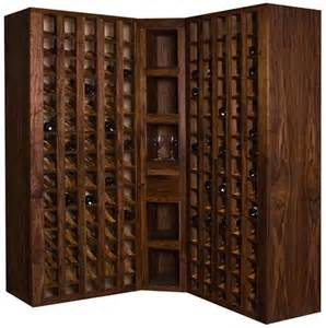 black display cabinet with glass doors wine cellar from meir design