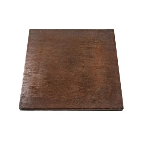 how to clean hammered copper table top 24 square hammered copper table top premier copper products