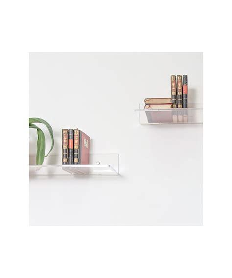 mensole trasparenti mensola 65x25 in plexiglass trasparente alto spessore