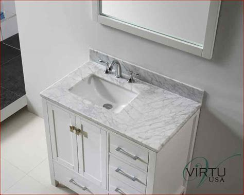 Virtu Usa 36 Quot Square Sink Bathroom Vanity Caroline Vu Gs