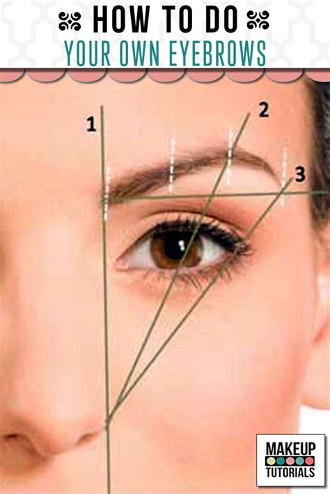 12 Tips On How To Pluck Your Eyebrows by How To Do Your Own Eyebrows Makeup Tutorials