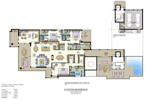 deck house plans floor plans pier house