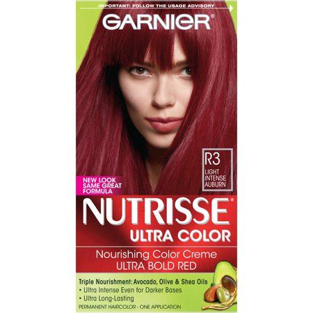 garnier fructis hair dye colors garnier nutrisse ultra color nourishing color creme