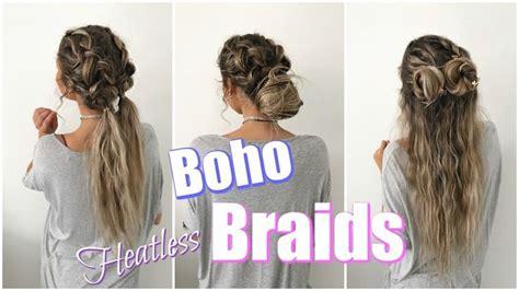 heatless braid hairstyles 2880 best hair images on pinterest youtube youtubers
