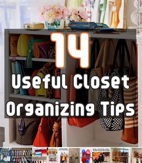 8 Tips For Reorganizing Your Closet by 14 Useful Closet Organizing Tips Diy Craft Projects