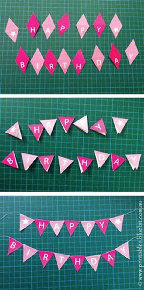Free Printable Happy Birthday Mini Cake Bunting Birthdays Happy And Birthday Cake Toppers Mini Cake Banner Template