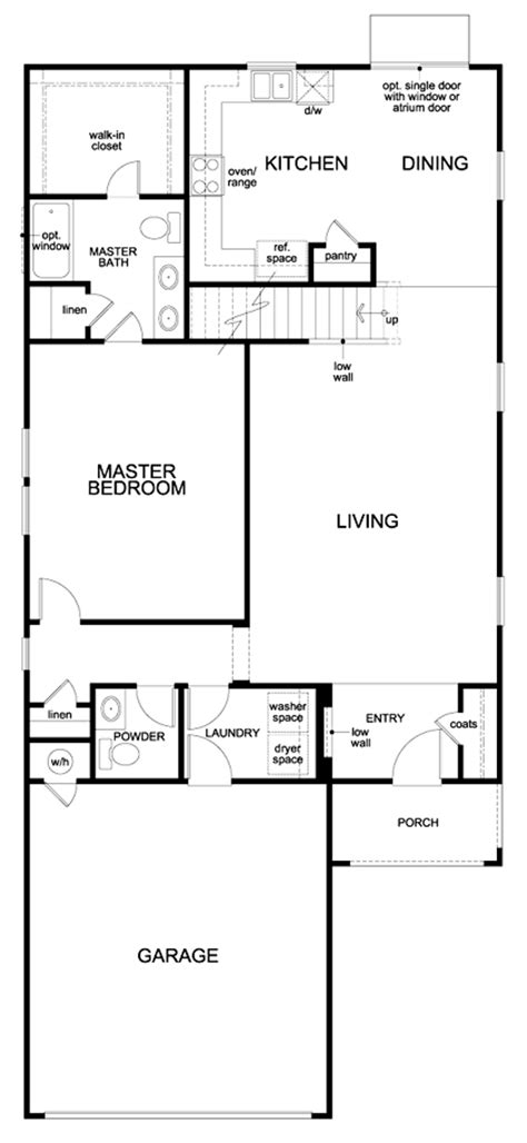 old kb homes floor plans second floor