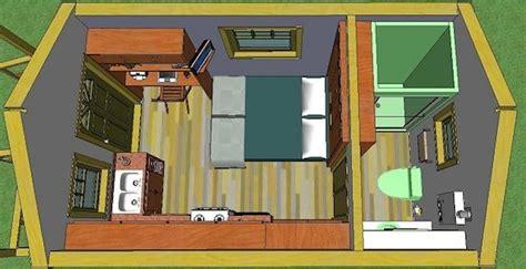 200 sq ft house quixote village community tiny house plans 002 200 sq ft