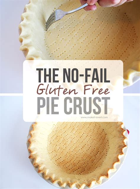 the no fail gluten free pie crust