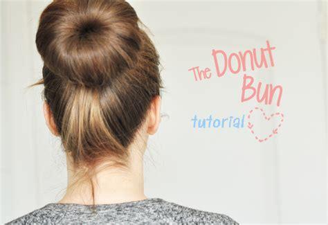 different ways to use donut bun tutorial the donut bun stylelab