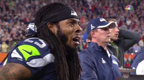 russell wilson meme super bowl 2015 russell wilson throws interception in the end zone to lose