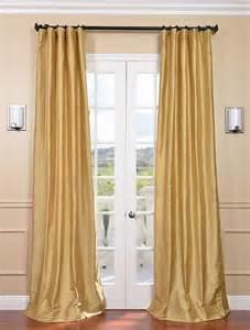 silk window curtains gold textured dupioni silk curtain traditional
