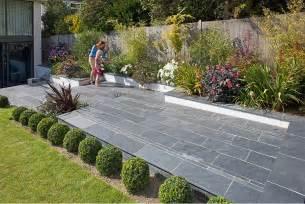 Tumbled Bluestone Patio Fairstone Slate Natural Garden Paving Marshalls Co Uk