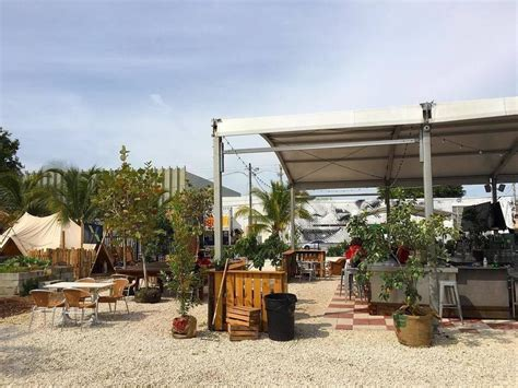 in the backyard or on the backyard exciting new concepts at the wynwood yard miami food pug