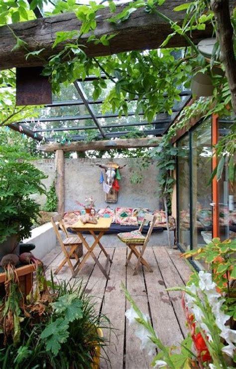 outdoor patio inspiration 17 boho rustic patio pictures daily backyard home garden