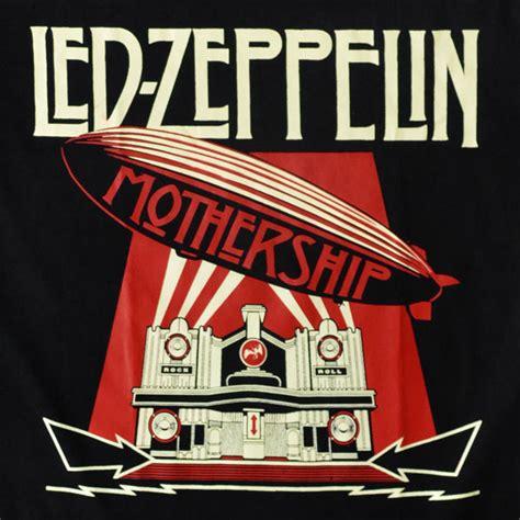 Led Zeppelin Mothership t shirt led zeppelin mothership milosmiles merch