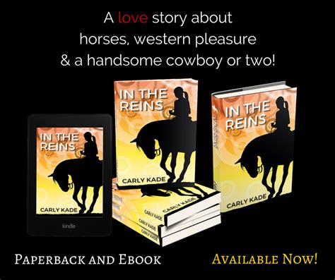 cowboy away in the reins series volume 2 books equestrian fiction author kade talks with
