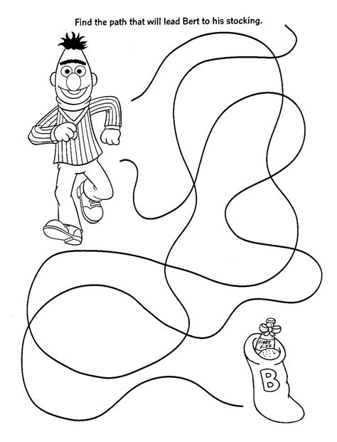 free coloring pages of 4 sesame