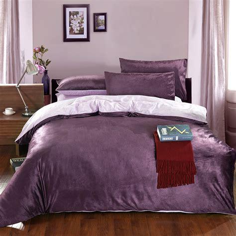 fleece bed sheets velvet piece set thickening coral fleece sanded duvet