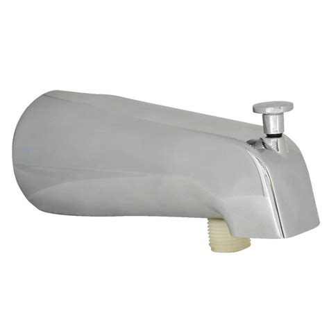 bathtub fittings tub spout with handheld shower fitting in chrome danco
