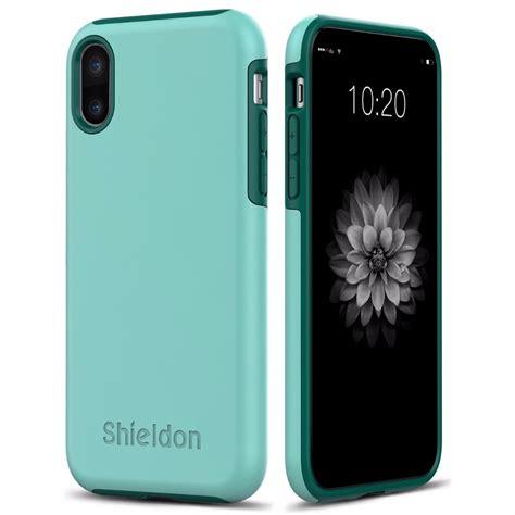 shieldon iphone xs case drop protection case  apple