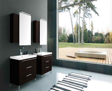 best idea create modern style bathroom vanities decosee