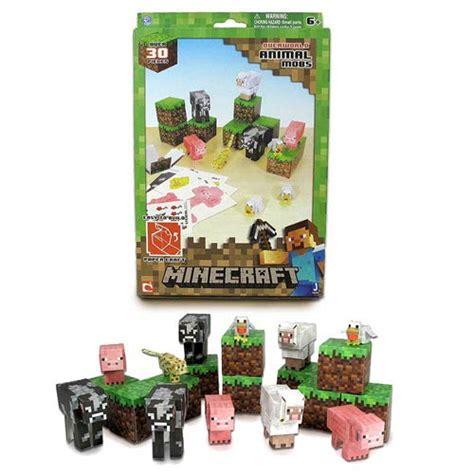 Minecraft Papercraft Animal Mobs - minecraft animal mobs papercraft