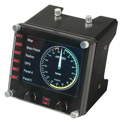 instrument panel ebay new in box saitek pro flight instrument panel r24 pz46
