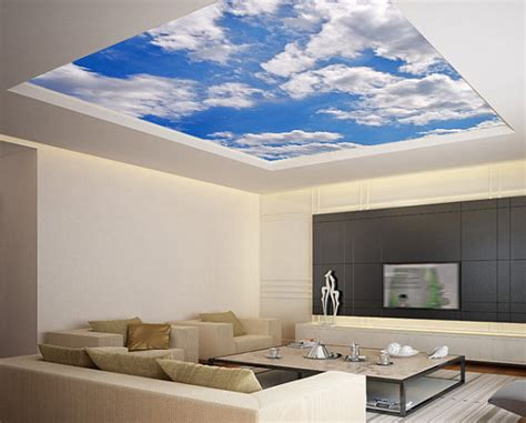Wallpaper In Ceiling by 27 Ceiling Wallpaper Design And Ideas Inspirationseek