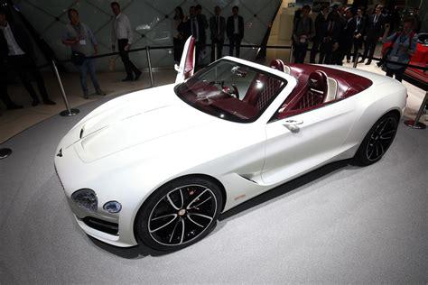 bentley exp bentley brings luxurious exp 12 speed 6e ev concept to