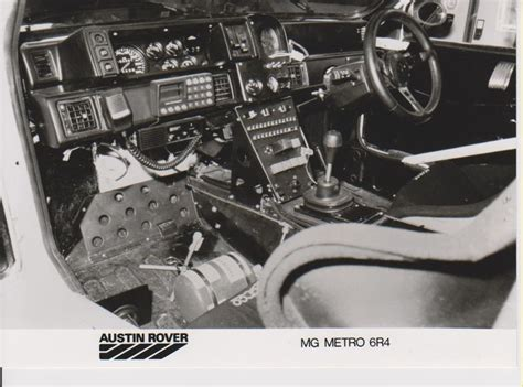 Mg Metro Interior by Mg Metro 6r4 Interior Belga Team Car Factory Press