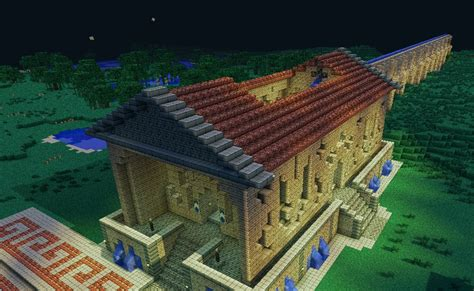roman bath houses roman bath house minecraft project