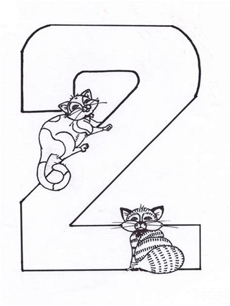 123 Numbers Coloring Pages Download And Print 123 Numbers 123 Coloring Pages