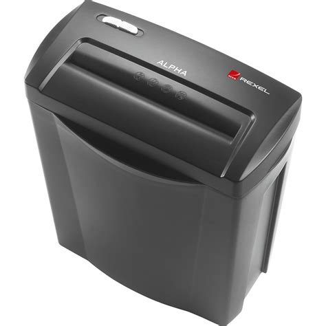home shredder rexel alpha home cc 4x38mm cross cut shredder 2102023