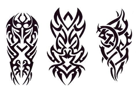 tribal tattoo outlines tribal design img2 171 tribal 171 flash tatto sets